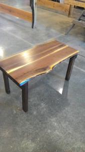 Walnut Live Edge Table